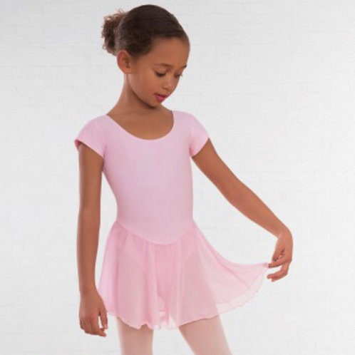 Pale Pink Skirted Leotard (Pre-Primary , Primary)