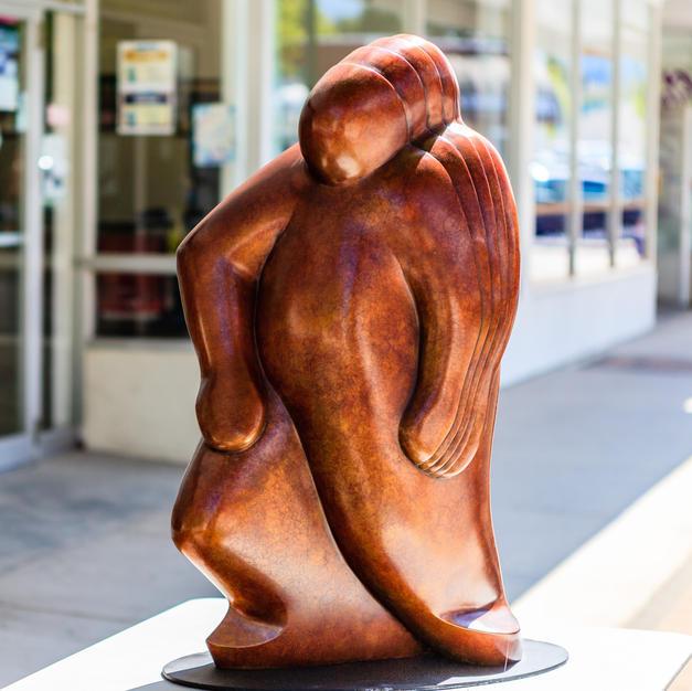 """""""Man in Motion"""" by Denis Kleine (2012)"""