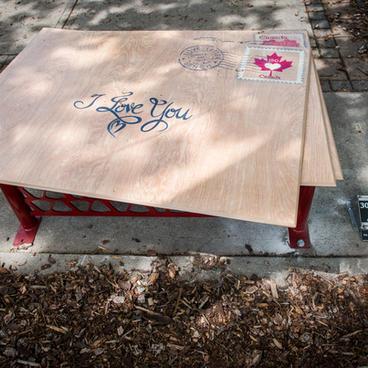 Love Letter Bench
