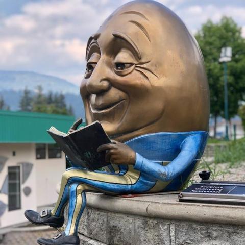 """Egghead"" by Kimber Fiebiger (2011)"