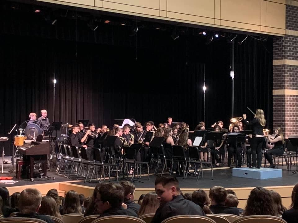 VCHS Wind Ensemble 3-25-2019