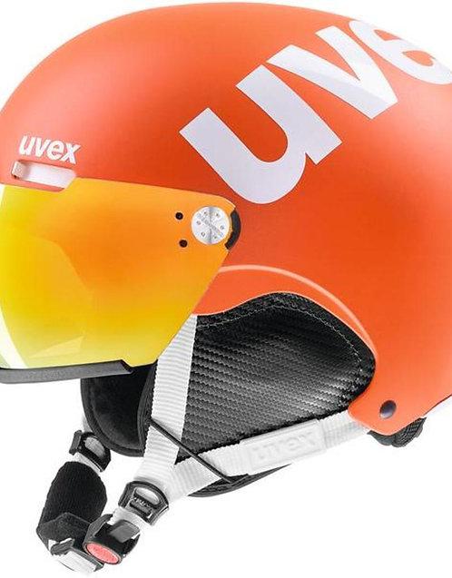 Helm 500 visor orange mat