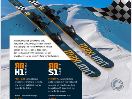 SKI & FORMULE 1 Turner connects them this coming Winter