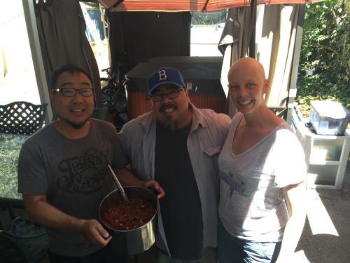 Daren brought us his famous chili.