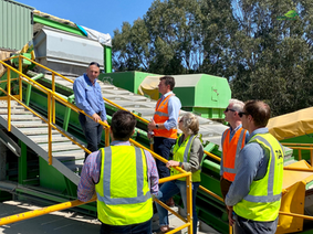 Tour at Central Waste Station
