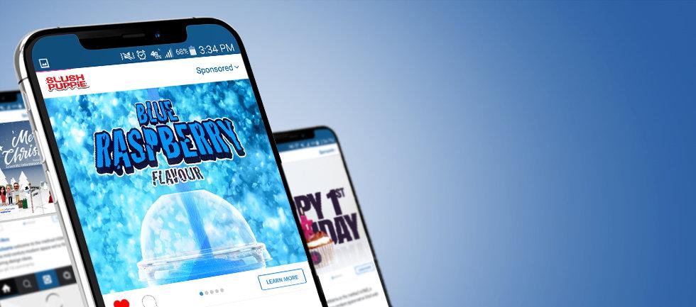 Digital advertising, online advertising and social media adverts