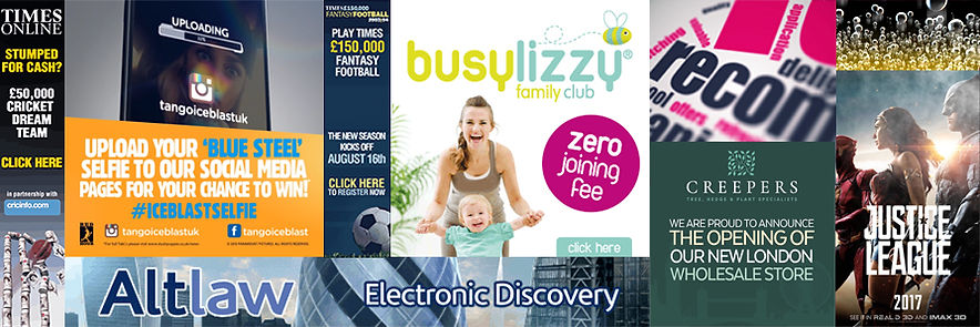 Online advertising banners gif digital advertising