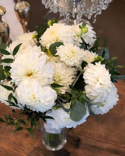 #dahlias  #bridalbouquet