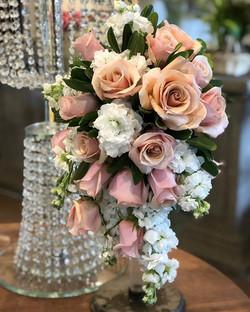 #cascade #bridal #bouquet