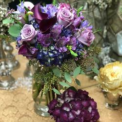 #purples #blues #lavenders #bridesmaids