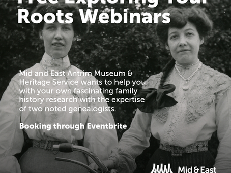 Exploring Your Roots - Free Webinars