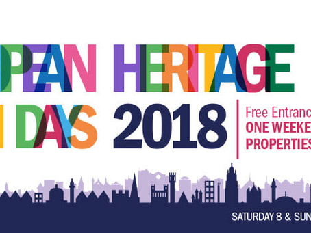 European Heritage Open Days 2018