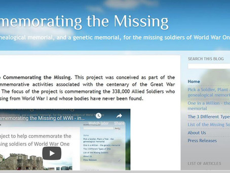Commemorating the Missing