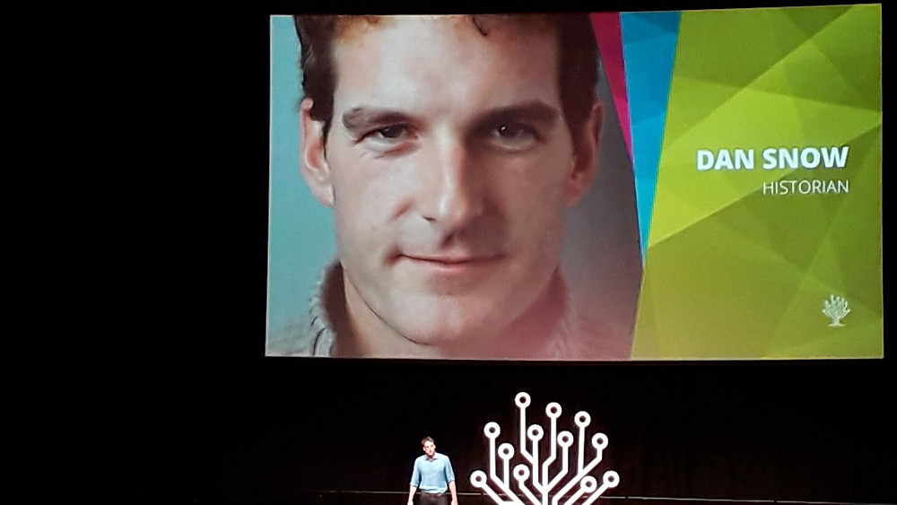 Dan Snow, Keynote Speaker at RootsTechLondon