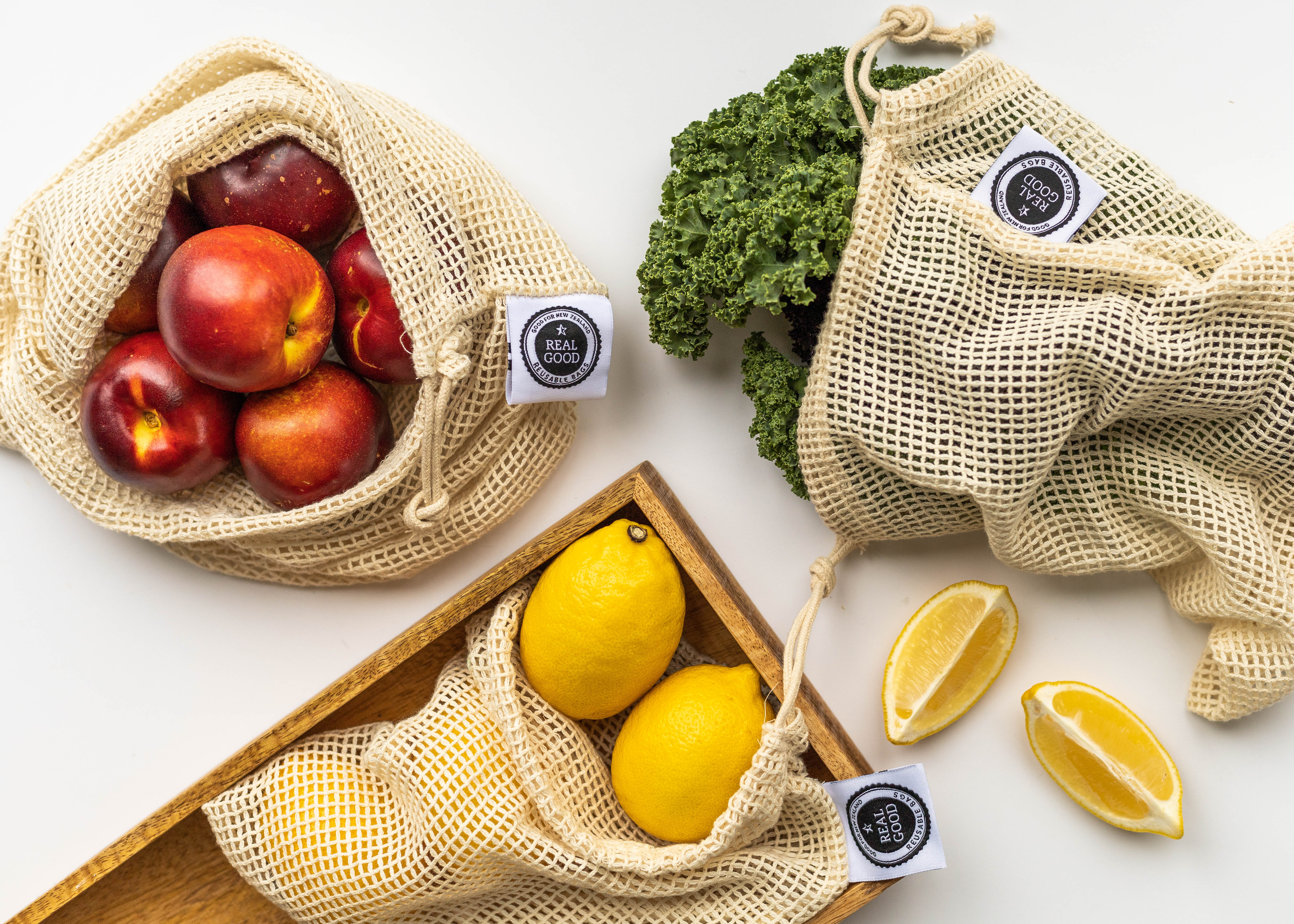 Flat Lay Eco Products