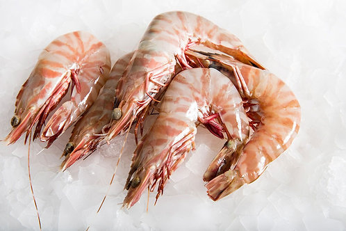Large Whole Raw Tiger Prawns
