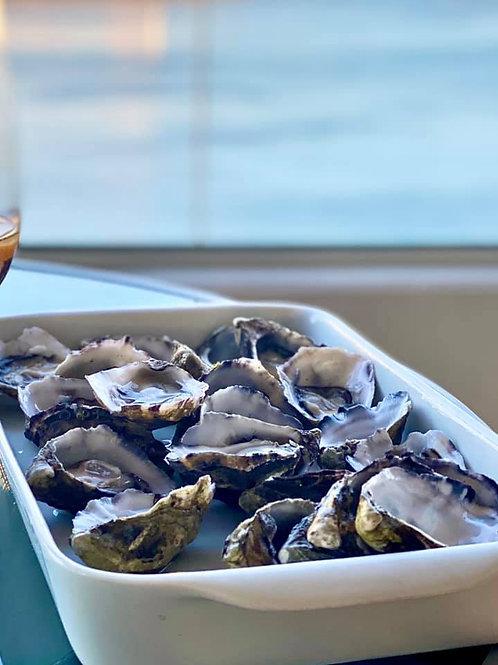 Live Open Oysters (Dozen)