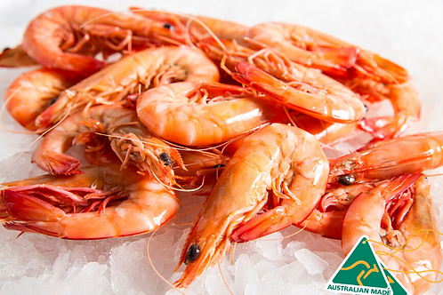 Australian Medium Whole Cooked Prawns
