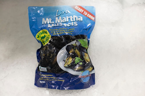 Local Vacuum Packed Mussels - Mt Martha