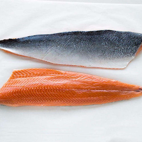 Large Sashimi Grade Salmon Fillets (Skin ON)