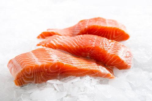 Atlantic Salmon Portion (Skin On - 120g)