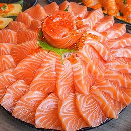 Sashimi, Salmon Sashimi, Tuna Sashimi, Kingfish Sashimi, Prawns, Scallops, Octopus