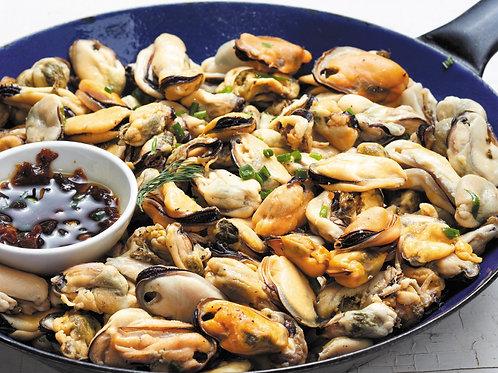 NZ Green Lip Mussel Meat (1kg)