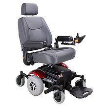 The Merits Maverick 10 is a mid wheel drive power chair