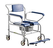 BariatricSelf Propelled Shower Commode