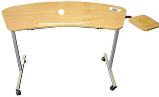 Says Over Chair Activity Table With Four Castors