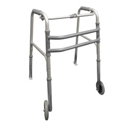 Walking Frame with wheels and skids