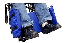 Skil Care Wheelchair Legrest With Padded Sides
