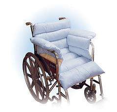 Spenco Wheelchair Cushion, Seat, Back and Sides