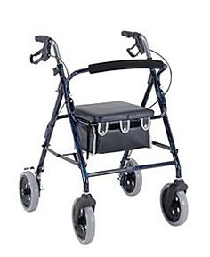 "Pride 8"" Walker With Handbrakes"