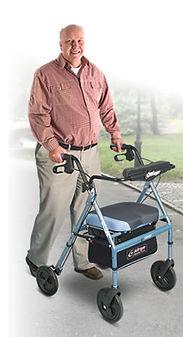 Airgo Comfort Plus XWD Bariatric Walker. 181kg weight capacity