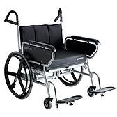 Bariatric folding wheelchair by XXL Rehab