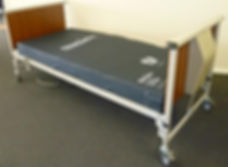 Hospital bed with Mattress