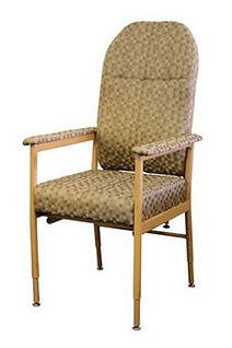 Lighweight Comfort and support are offered by the ridge Aluminium Chair with High Back