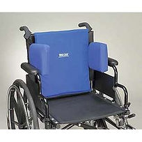 For a custom fit wheelchair supprot system choose Skil Care Adjustable Lateral Support