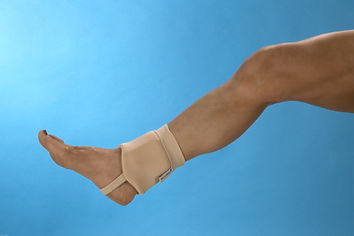 DermaSaver ankle bumpers will protect the malleoli