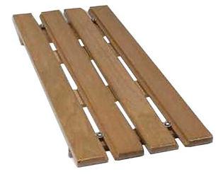 Adjustable Wooden Slatted Bath Board