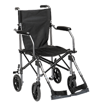 The Travelite Wheelchair Fits in a bag for easy transport