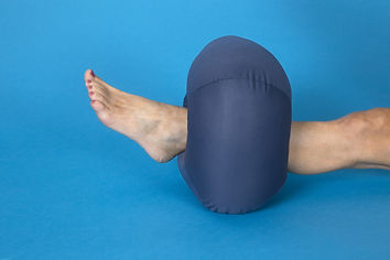 DermaSaver heel elevator lifts the heel from the back to take pressure off heel pressure sores and ulcers