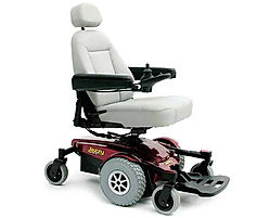 The Pride Jazzy Select 6 offers   maximum stability in a power chair