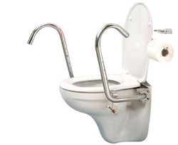 throne toilet support