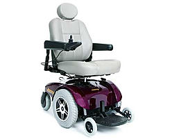 Pride Jazzy Select 6 Large Electric Wheelchair