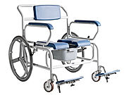 Large Self Propelled Shower Commode Chair