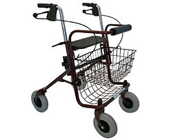 The Peak Care Elipse Eight Inch Wheel Hand Brake Walker is a very strong and reliable mobility aid