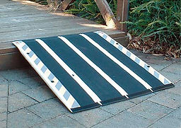 Decpac Senior Ramp is a flexible fibreglass ramp fro wheelchair access