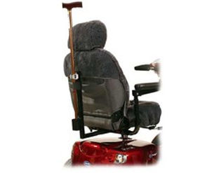Power Wheelchair Or Scooter Walking Stick Holder